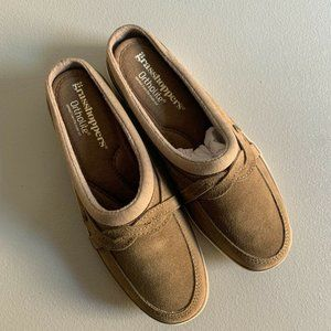 Grasshoppers 6.5 M Mule Suede Ortholite Brown Shoe